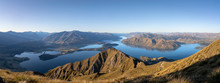 Sunset From Roys Peak In New Z...