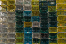 Stack Of Lobster Traps - Portland, Maine
