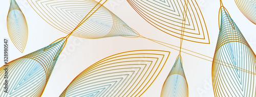 Geometrie, copertina social, natura, biologico Wallpaper Mural