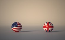 United States Flag. 3d Render ...