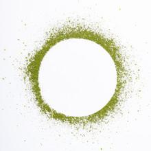 Heap Of Matcha Green Tea Powde...