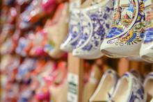 Clogs For Sale At A Dutch Reta...