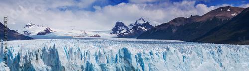Glacier in Argentina Canvas Print