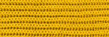 Vibrant Yellow Texture Knitted...