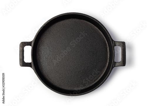 Canvastavla Frying pan