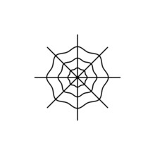 Spiderweb Template Icon. Www, ...