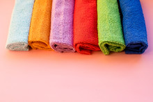 Colorful Microfiber Towels, Ov...