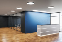 Modern Office Hall With Recept...