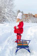 Winter Fun. Beautiful Little G...