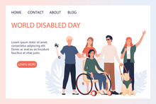 World Disabled Day Landing Pag...