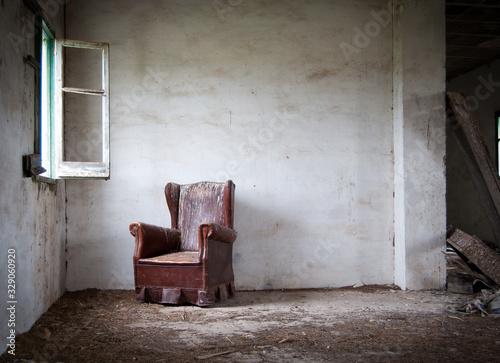 Fotografia lugar abandonado