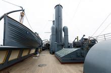 Deck Of Cruiser Aurora, Combat...