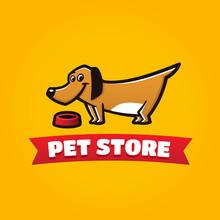 Pet Store Funny Dog Symbol