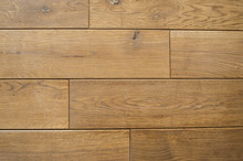 Ceramic Tile With A Wood Texture On A Kitchen Or Living Room.