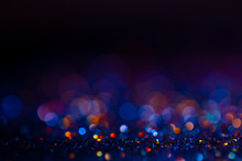 Festive Bokeh Glitters Backgro...