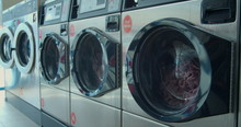 Video Of Self-service Laundry - Coin Wash.