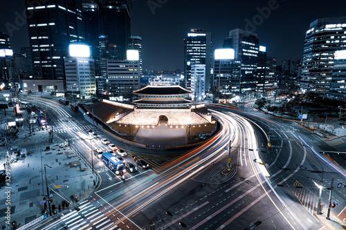 대한민국 서울 남대문 야경