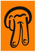 Dibujo De Mano Haciendo Abecedario En Lengua De Señas Chilena