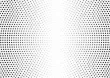 Abstract Halftone Dotted Backg...
