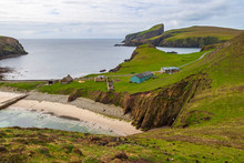 Fair Isle In The Atlantic Ocean