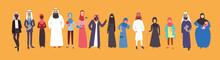 Group Of Muslim Arabic People ...