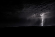 Bolt Of Lightening Striking Th...