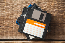 Floppy Disk On The Table