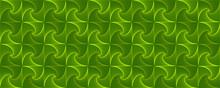 Green Interlocking Fractal Tes...