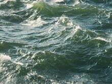 Stormy Waves Closeup