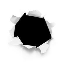 Breakthrough White Paper Hole....
