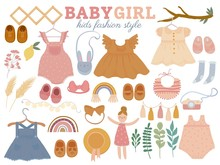 Set With Baby Trendy Clothes, ...