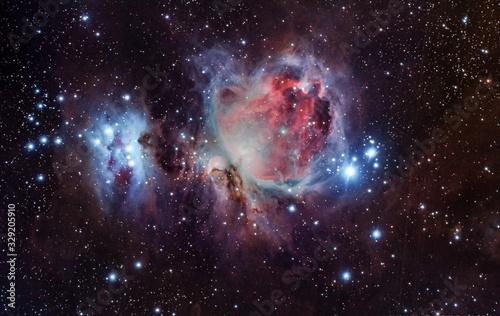 Canvastavla orion nebula