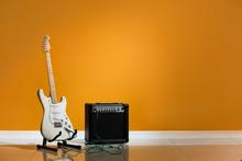 Modern Guitar And Amplifier Ne...