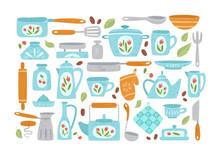 Kitchen Utensil Or Kitchenware...
