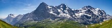 Switzerland, Panoramic View On...