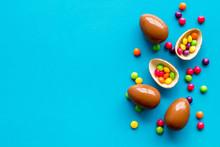 Chocolate Eggs - Easter Symbol...