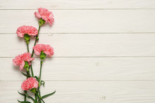 Pink Carnation Flower Bouquet ...