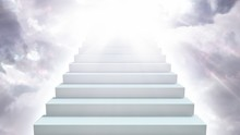Stairway To Heaven In Cloudy S...