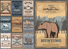 Hunting Sport Posters With Wil...