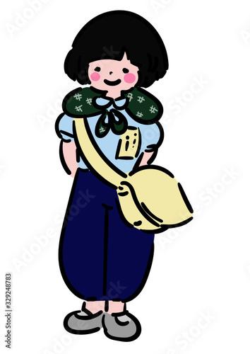 Photo 戦時中_女の子