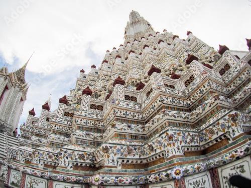 ワット・アルン タイ バンコク Wat Arun タイランド Canvas Print