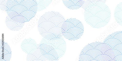 水玉 夏 和紙 背景