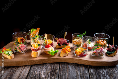 Stampa su Tela finger food