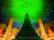 Leinwanddruck Bild - ワット・パークナム ワット・パクナム タイ Wat Paknam Phasicharoen