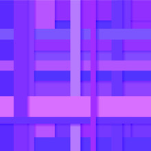 Pink And Purple Stripes Intertwined In An Abstract Background With A Shadow