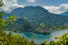 View Of Lake Of Annecy With Du...