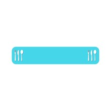 Food Banner To Place Text Isol...