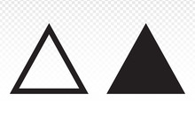 Up Arrow Triangle Or Pyramid L...