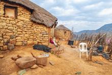 Lesotho Traditional House - Ba...