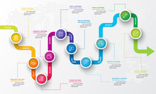 Timeline Infographic Template,...